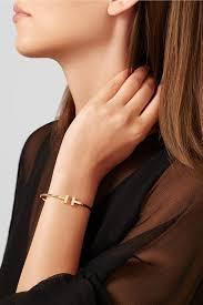 tiffany wire bracelet images Tiffany co t wire gold diamond wire bracelet tradesy jpg