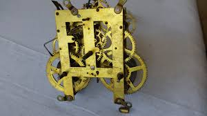 Forestville Mantel Clock Seth Thomas Spare Clock Parts For Antique And Vintage Repair Or