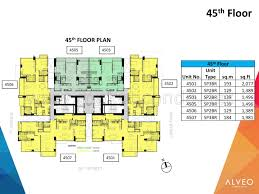 Triangle Floor Plan by Verve Residences Floor Plans Connie Marciano