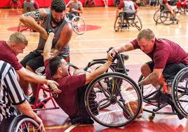250 warriors at camp pendleton push through pain for paralympic