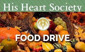 thanksgiving food drive 2017 sacred catholic
