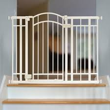 Child Gates For Stairs With Banisters Baby Gates You U0027ll Love Wayfair