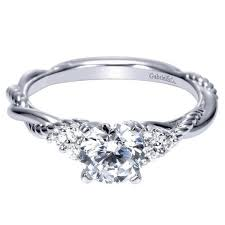 twisted shank engagement ring 88ctw engagement ring with twisted shank mullen