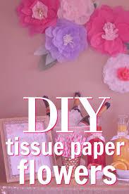 tissue paper flowers tissue paper flowers