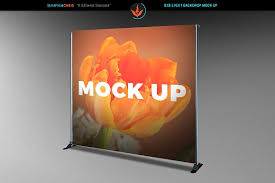 Photo Back Drop 8x8 Event Backdrop Mock Up Product Mockups Creative Market