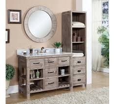 bathroom vanity with side cabinet stylish bathroom vanity with side cabinet regard to wk8248 sink