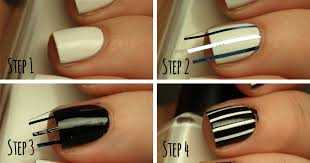 how to create the perfect pinstriped nail design more com