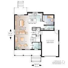 plan de la cuisine plan de maison unifamiliale dempsey w3452 dessins drummond