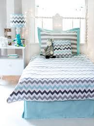 Turquoise Chevron Duvet Cover Chevron Bedding Set In Aqua By My Baby Sam Rosenberryrooms Com