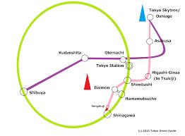 Tokyo Subway Map by Subways