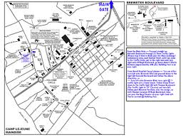 Map Of Camp Pendleton Health Promotion Wellness