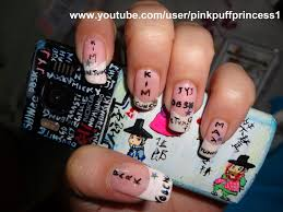 nail art designs with names decoration in french nail art design