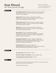 Resume In Deutsch Sean Elwood Art Direction U0026 Design