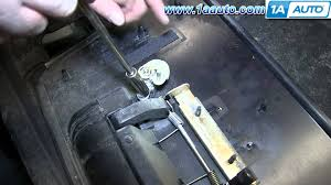 nissan qashqai door trim how to install replace tailgate handle 2004 2014 nissan titan