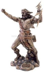 Famous Greek Statues Amazon Com Zeus Statue King Of The Gods Greek Mythology