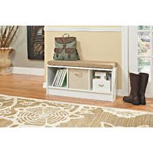 Closetmaid Cubeicals Instructions Storage Bench 3 Cubicles White Closetmaid Target