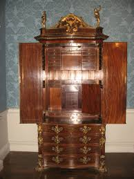 Bedroom Furniture With Hidden Compartments Channon Bureau Secret Compartment Stashvault