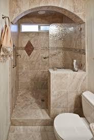 Walk In Showers Without Doors Walk In Shower Mediterranean - Bathroom shower designs