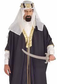 Sheik Halloween Costume Arab Sheik Men U0027s Costume