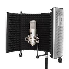portable photo booth portable vocal booth pro with floor desk stands home recording