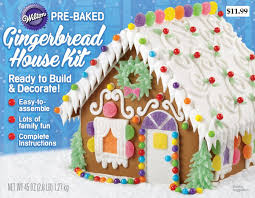 wilton pre baked unassembled gingerbread cottage kit