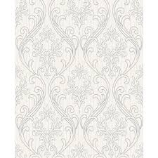 royale silver and white wallpaper graham u0026 brown