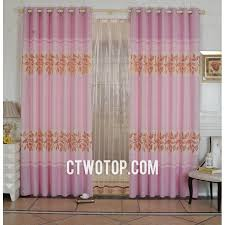 Pink And Gold Curtains Pink And Gold Thermal Shabby Chic Rustic Large Curtains