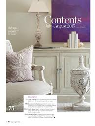 traditional home magazine featuring suite pieces custom furniture