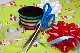 wrapping supplies gift wrapping supplies stock photo derek hatfielddesign