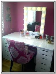 ikea vanity table with mirror and bench mirrored desk ikea vanity desks mirror vanity mirror with lights n