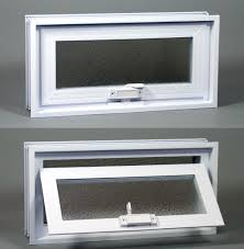 basement or crawl space window with fans 16