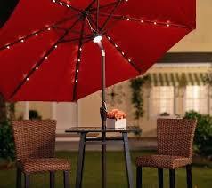 Lighted Patio Umbrella Solar Lighted Patio Umbrella On Ideas Solar Patio Umbrella And