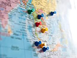 World Map With Pins by How To Make Your Dream Bucket List A Reality Travel Channel Blog