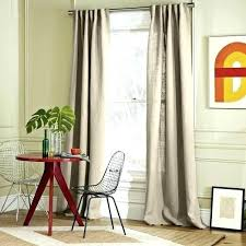 Pottery Barn Linen Curtains Belgian Linen Curtains Station Percent Flax Linen Drape Single