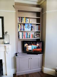 built in bookshelves bespoke bookcases london furniture artist
