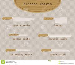 vector kitchen knives stock vector image 65671061