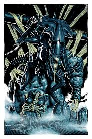 mondo villain poster art for aliens wolfman superman and more