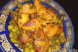 cuisine marocaine poulet aux olives poulet mchermel aux olives cuisine de safaa