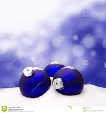 christmas background christmas ornament blue snow stock photo