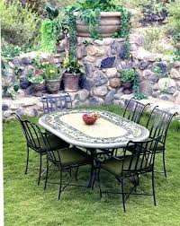 outdoor mosaic bistro table mosaic outdoor table and chairs stgrupp com