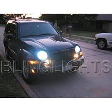 2002 jeep liberty fog lights blinglights 2002 2003 2004 2005 2006 2007 jeep liberty kj xenon
