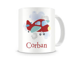 personalized airplane mugs airplane cup boys airplane mug