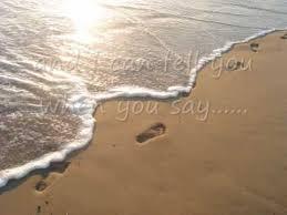 leona lewis footprints sand lyrics