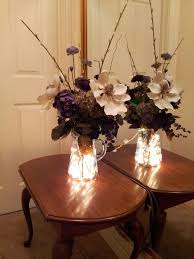 Lights In Vase Lighted Vase Flower Arrangement Seasonally You