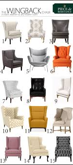 cheap livingroom chairs a wingback chair for any modern home www theanatomyofdesign