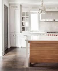 long barrel kitchen hood with deck mount pot filler love the