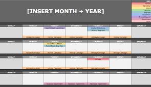 the social media content calendar template every marketer needs