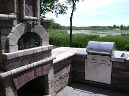 residential outdoor kitchens michigan landscaping company