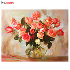 Cross For Home Decor Online Get Cheap Rose Cross Stitch Pattern Aliexpress Com