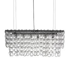 Small Glass Chandeliers Rectangular Glass Chain Island Chandelier Small Shades Of